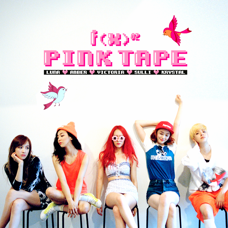 f(x): Pink Tape by Awesmatasticaly-Cool on DeviantArt F(x) Pink Tape Fanart