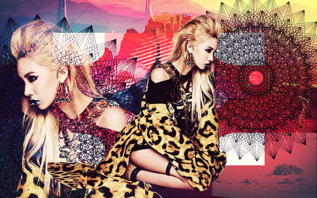 2NE1 CL CRUSH WALLPAPER By Awesmatasticaly Cool
