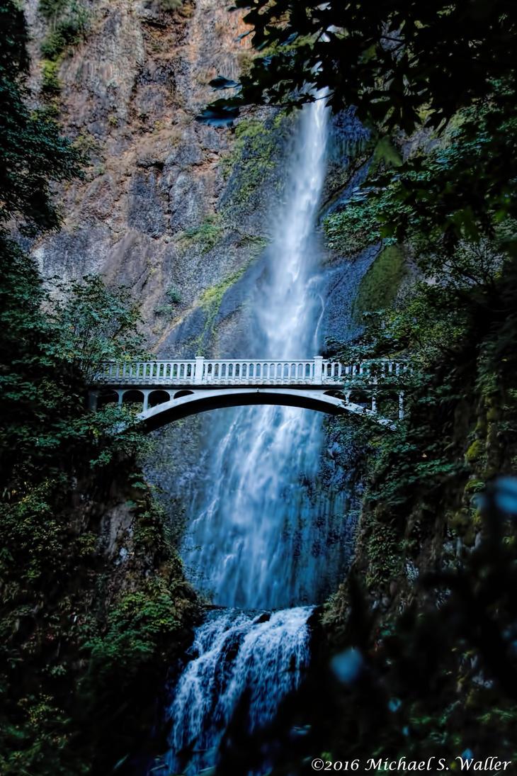 the synthetic awakening - Multnomah Falls 2 by thsyntheticawakening