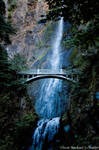 the synthetic awakening - Multnomah Falls 2
