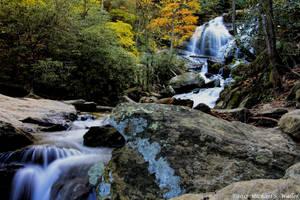 the synthetic awakening - Catawba Falls 5 by thsyntheticawakening