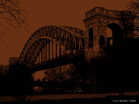 Hell Gate Bridge Copper