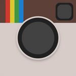 Material Design Instagram Icon