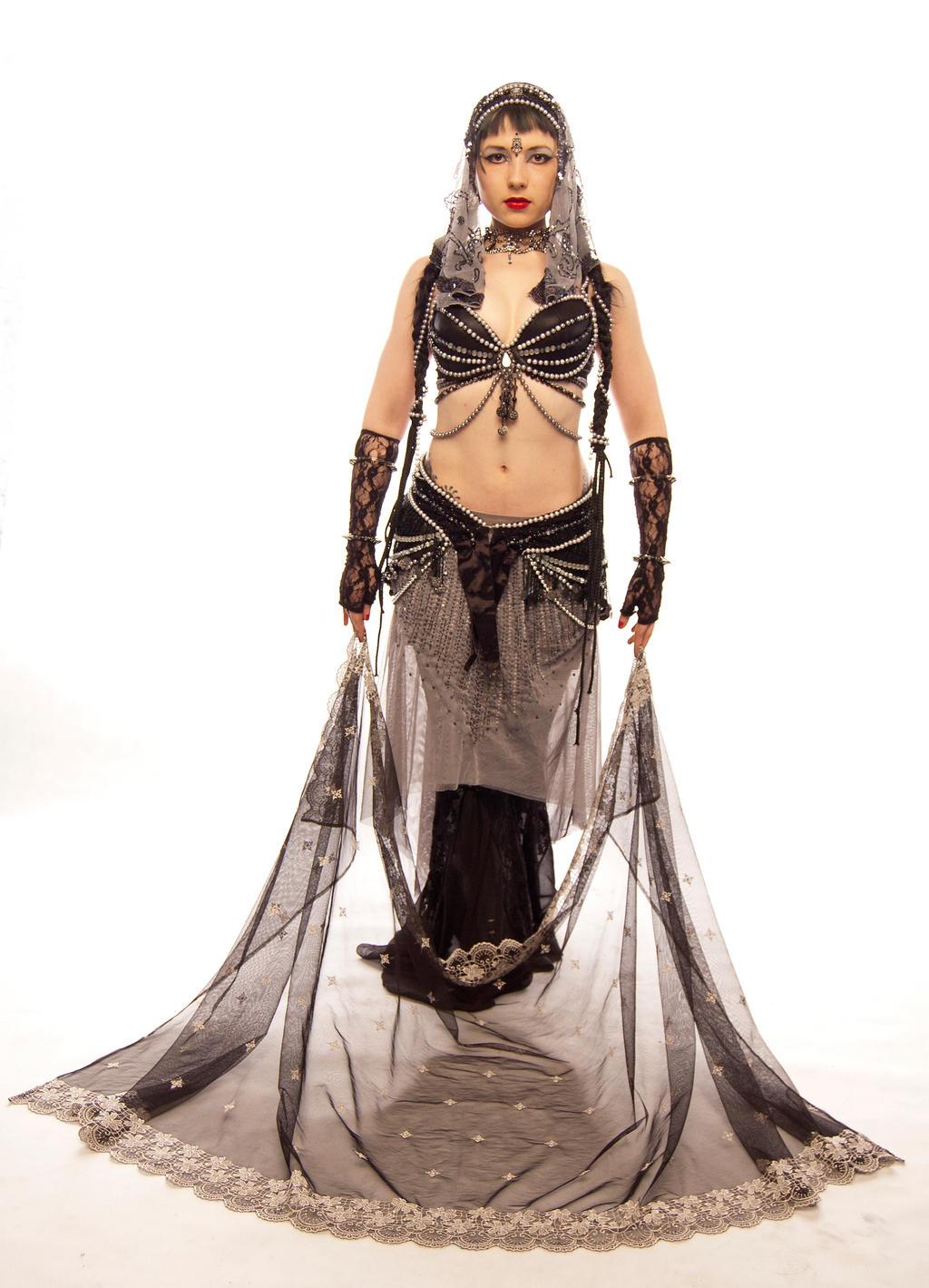 STOCK - Tribal Fusion Belly Dancer - Apsara 13 by Apsara-Art