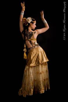 STOCK - Indian Tribal Fusion Dancer - Apsara 3