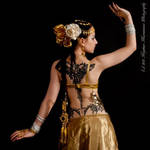 STOCK - Indian Tribal Fusion Dancer - Apsara 10