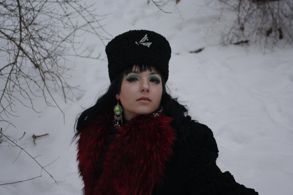 STOCK  - Winter Goth / 19th century Russian by Apsara-Art