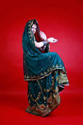 STOCK - indian dancer