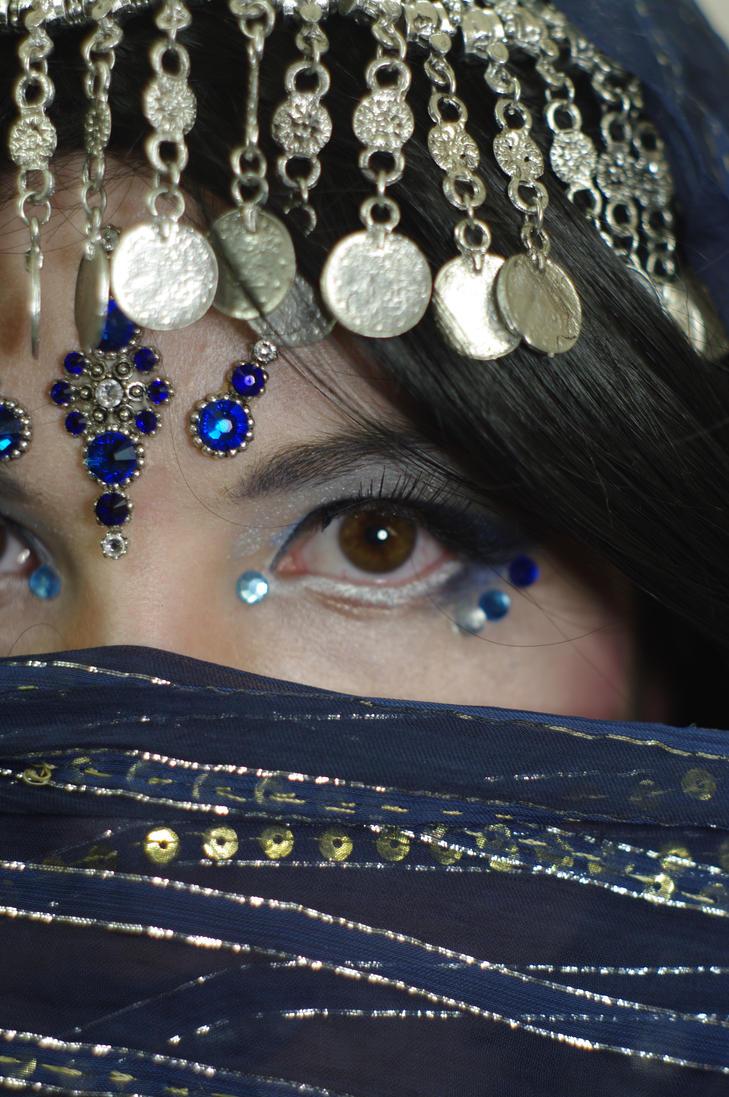 STOCK - Arabian Fantasy (book cover / eye stock) by Apsara-Stock