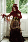 STOCK - Steampunk in Red