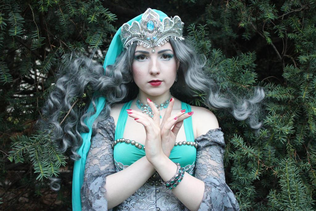 STOCK - Turquoise princess by Apsara-Stock
