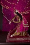 STOCK - Persian Miniature Dancer in pink