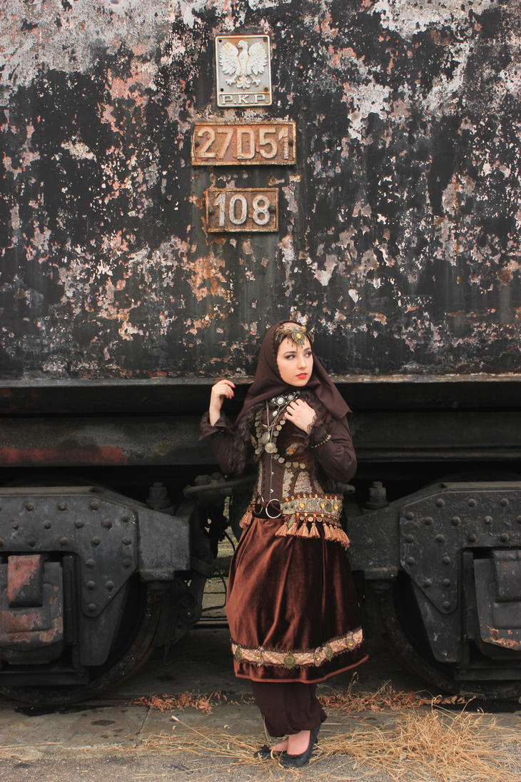 STOCK - Persian Steampunk by Apsara-Stock