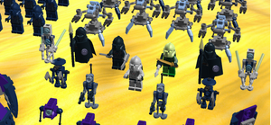 Close Up Of Boarding Party Clone Commanders