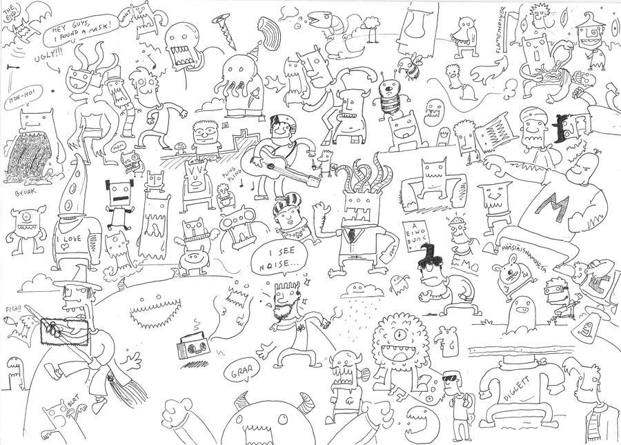 scribblescribble by Hempuli