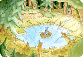 Moss and Pond