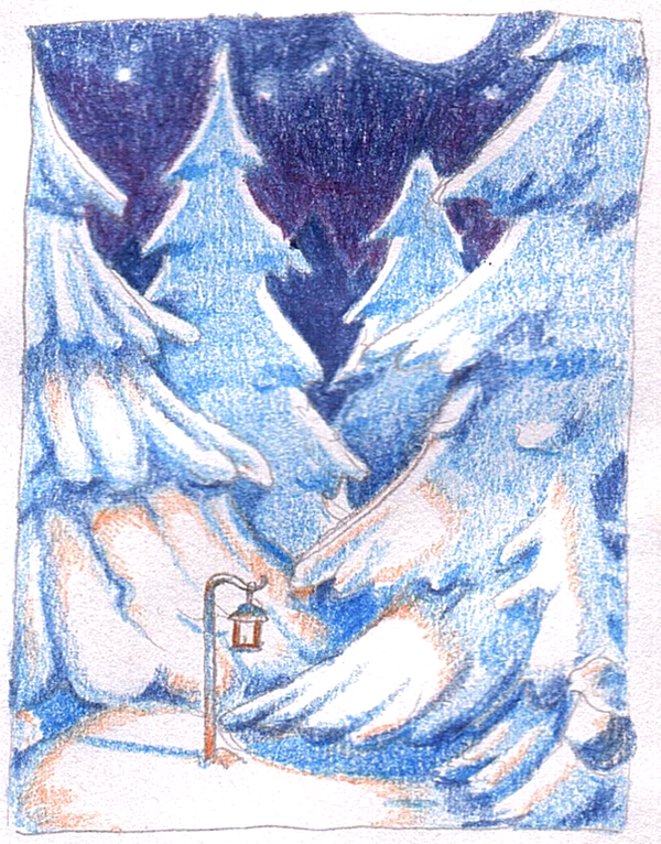 Winter night by Hempuli