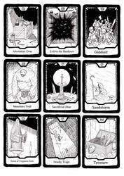 Adventure cards by Hempuli
