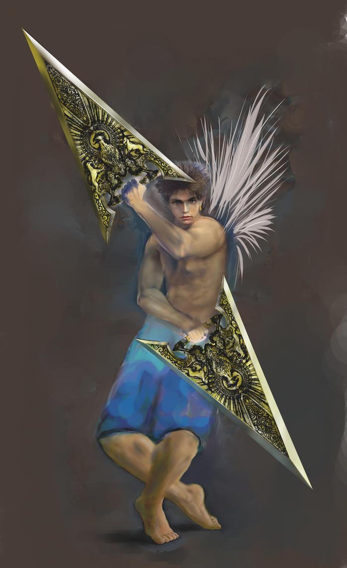 forrest warrior by marpic