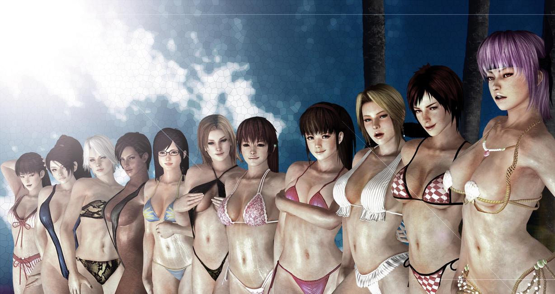 3d model viewer doax: