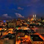 Kuala Lumpur - Blue Hour by firdausmahadi