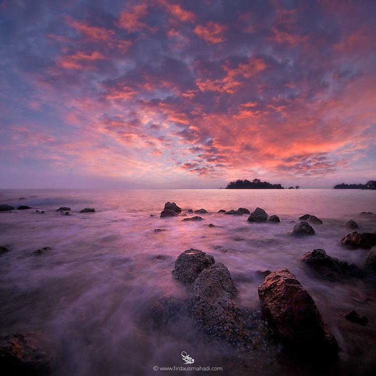 Fiery Sunset by firdausmahadi