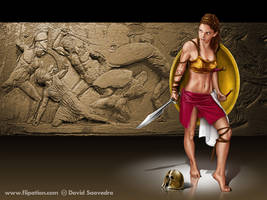 Spartan, desktop version by flipation