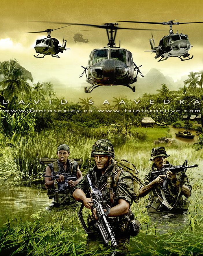 Men Of War Vietnam Alternate Cover By Flipation On Deviantart
