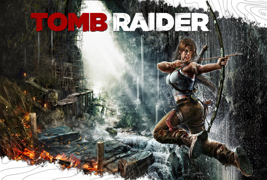 Tomb Raider by flipation