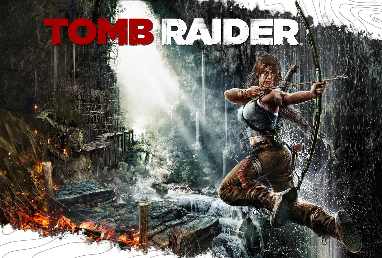 Tomb Raider by flipation
