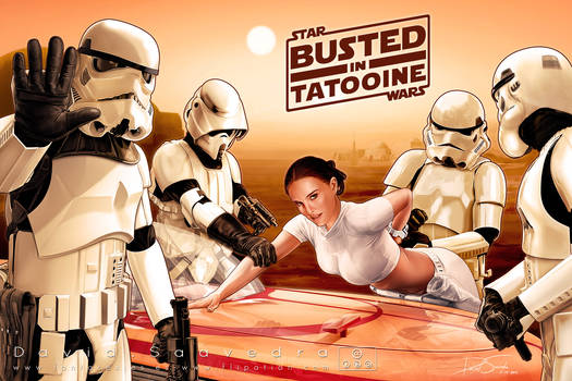 Busted in Tatooine