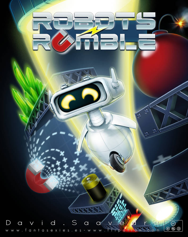 Robots Rumble by flipation