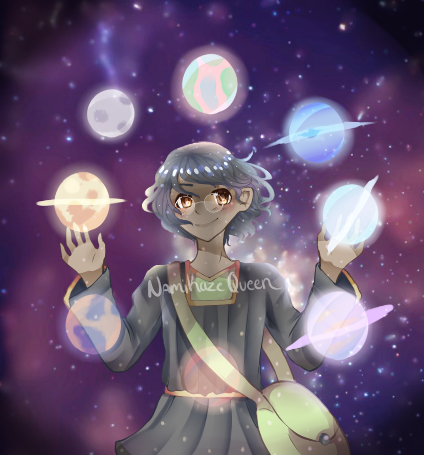 Planet Thief by NamiKazeQueen