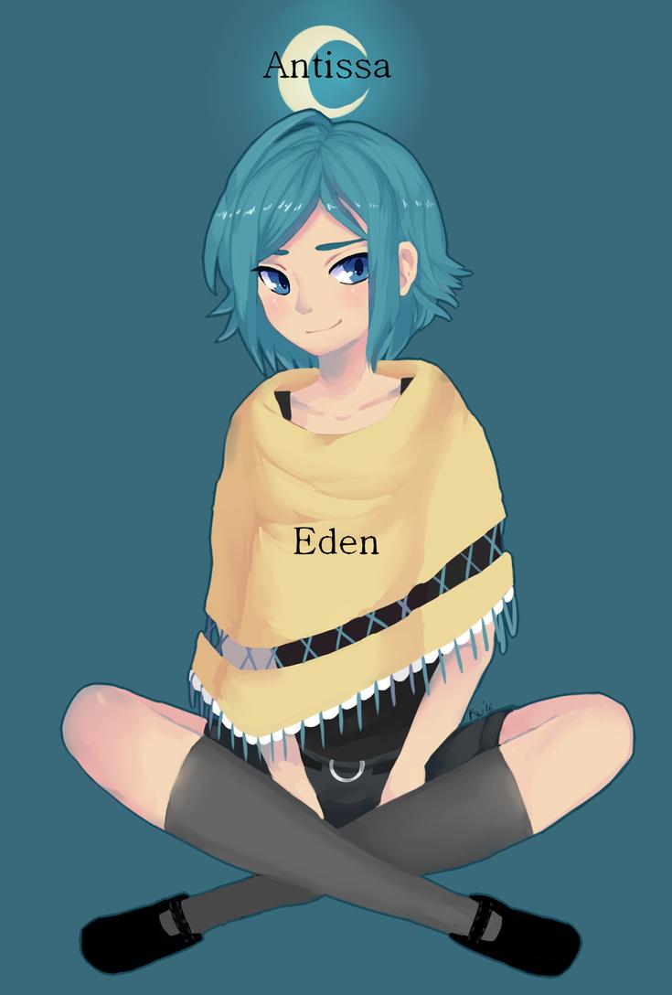 Eden [+Speedpaint!!] by NamiKazeQueen
