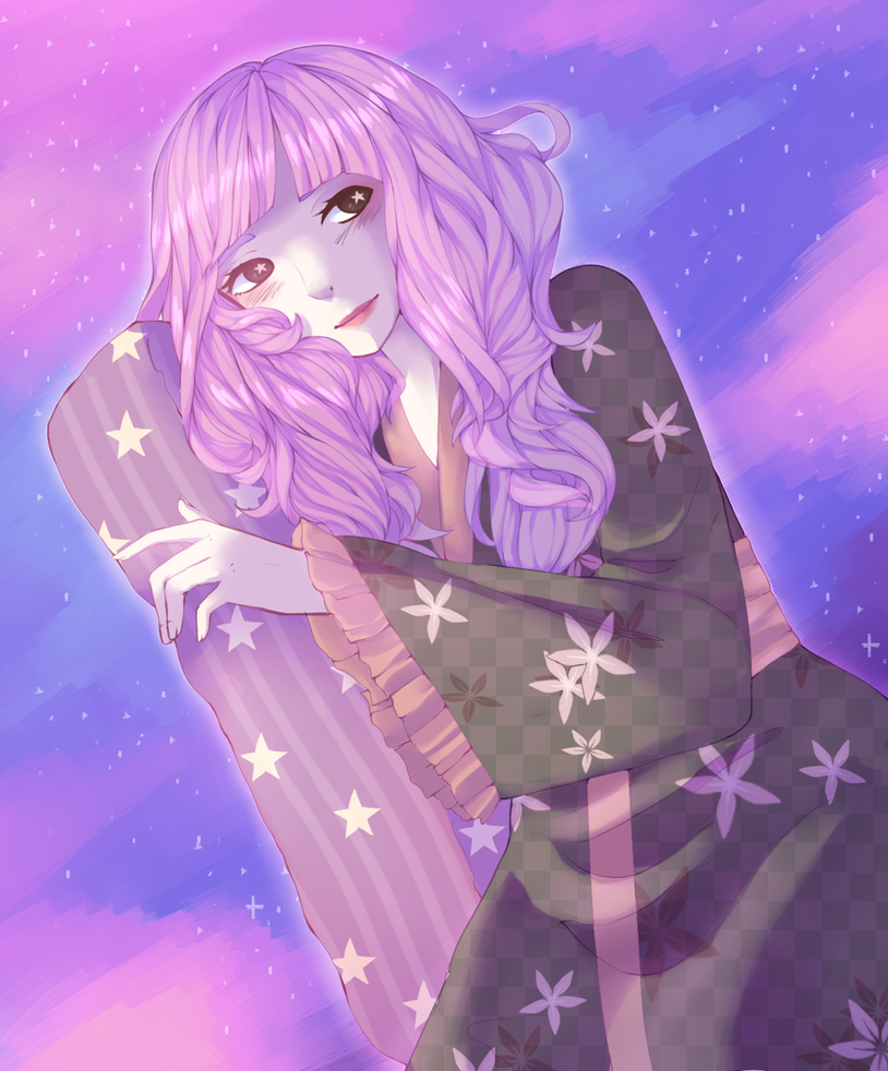 [Fanart] Dreamy lady by NamiKazeQueen