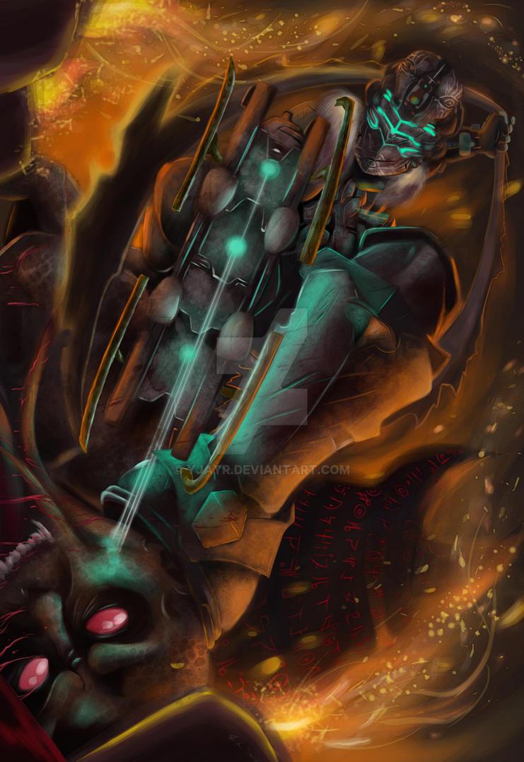 Isaac Clarke 43 by Yjayr