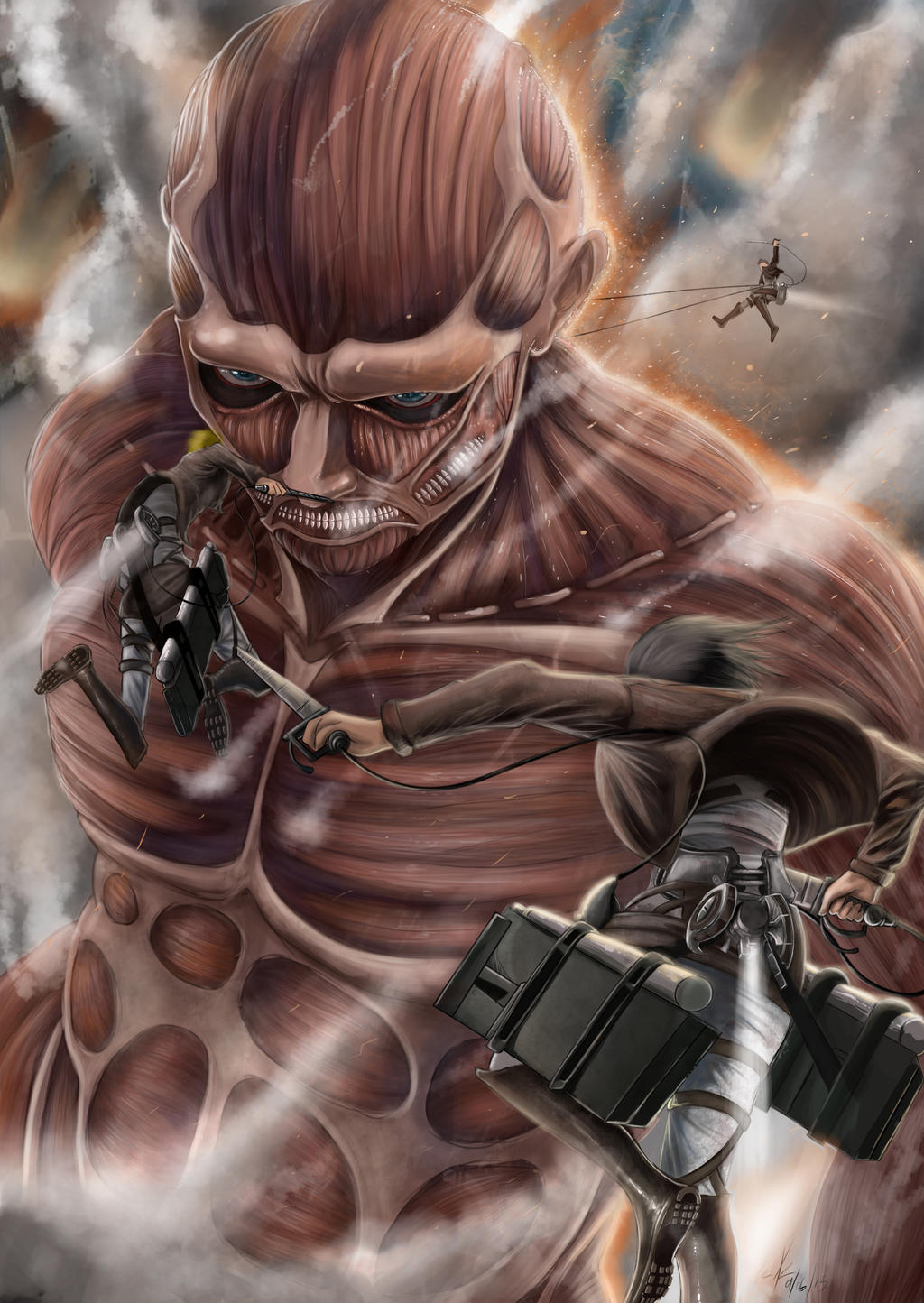WIP: ATTACK ON TITAN by Yjayr