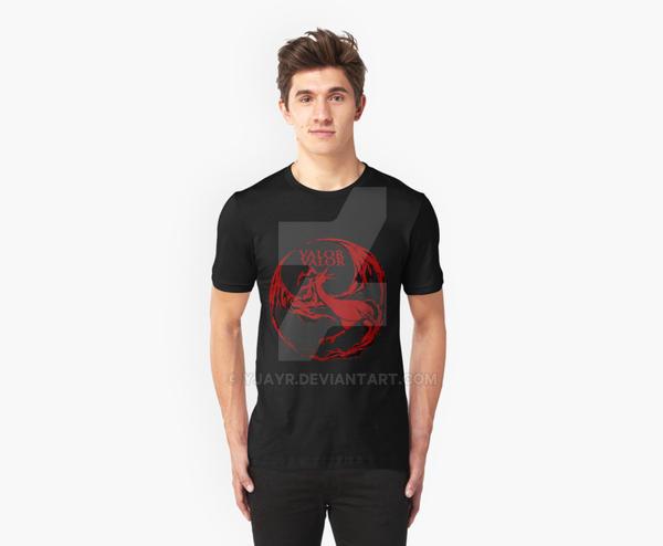 PokemonGo: Team Valor Shirt Design by Yjayr