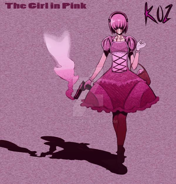 koz: The girl in pink quick sketch by Yjayr