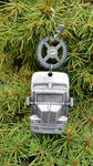 Truckin Holiday Ornament - SOLD