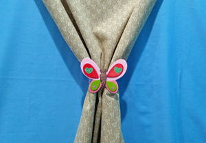 Butterfly Curtain Tie-Back