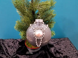 Pink Pearl Holiday Ornament by 2ndWindAccessories