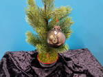 Brown Elegance Holiday Ornament by 2ndWindAccessories