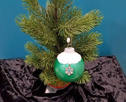 Snow Top Holiday Ornament by 2ndWindAccessories