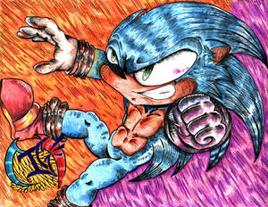 Sonic the Hedgehog by TheTigerMaster