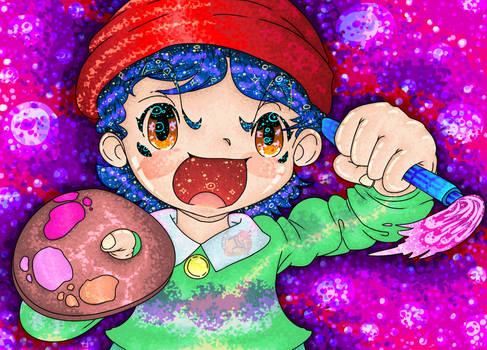 The Painter, Adeleine -Kirby 64