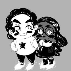 Steven and Connie -Steven Universe Ink