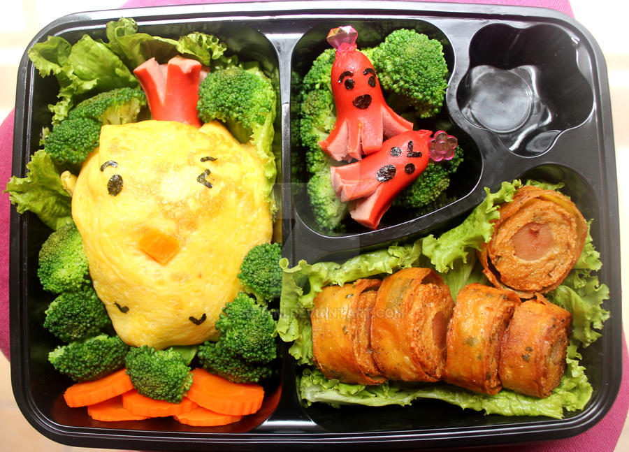 [Bento] Run, Chicken, Run! by sitidini