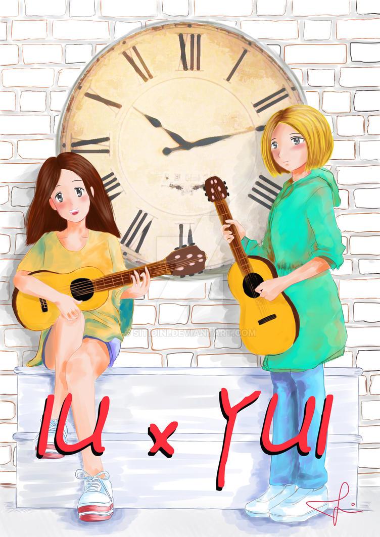 IU x YUI by sitidini