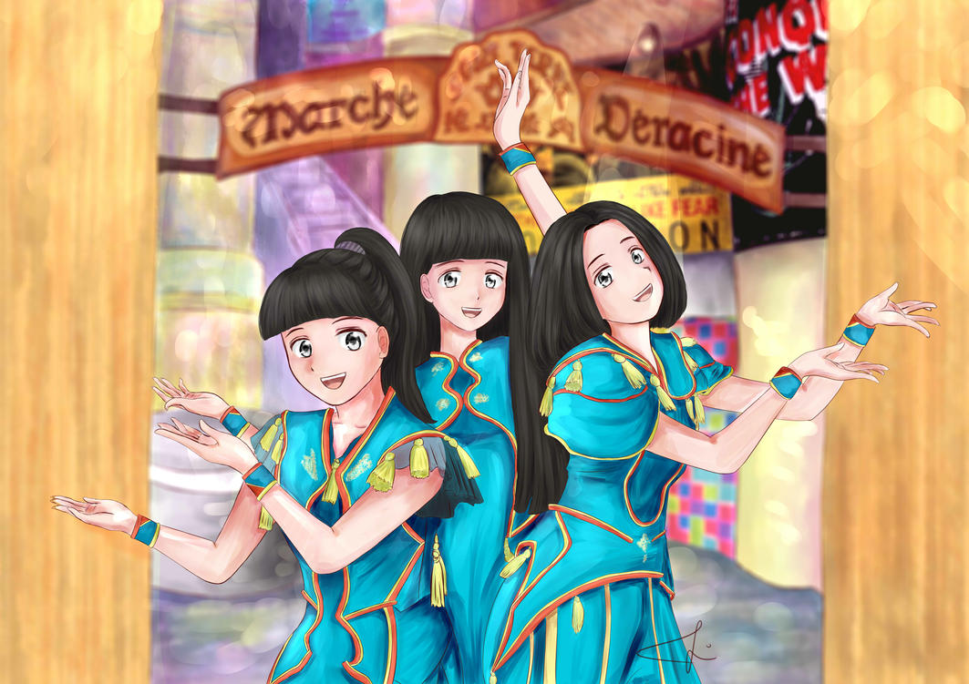 Perfume - Cling Cling by sitidini